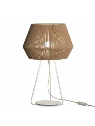 Lámpara de mesa Banyo 1L E27 cuerda - Ole
