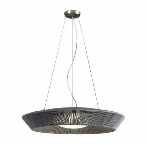 Lámpara colgante Banyo 75cm 3L E27 cuerda - Ole