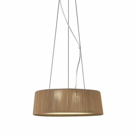 Lámpara colgante Drum 60-80 cuerda - Ole