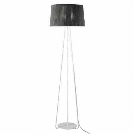 Lámpara de pie Drum 1L E27 cuerda - Ole