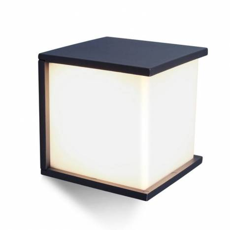 Aplique de pared Box Cube E27 IP44 - Lutec