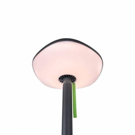 Lámpara de pie Poppy solar + altavoz - Lutec
