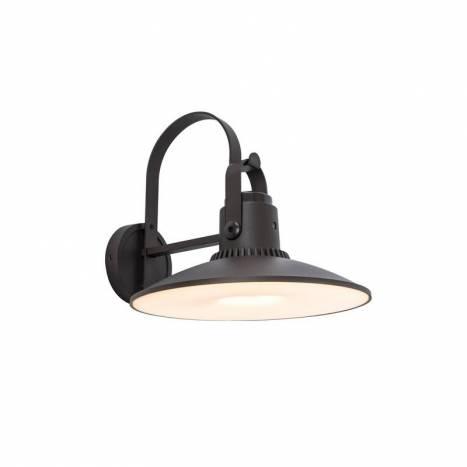 LUTEC Darli LED + speaker IP44 wall lamp