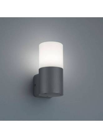 TRIO Hoosic E27 IP44 wall lamp oxide