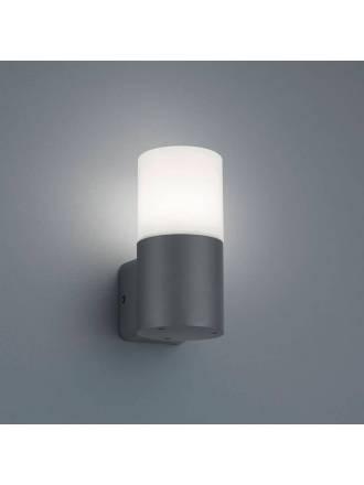 TRIO Hoosic E27 IP44 wall lamp oxide