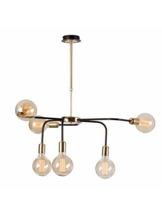 Lámpara colgante Ascoli 6L E27 - Ilusoria