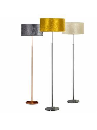 Lámpara de pie Velvet 1L E27 terciopelo - Ilusoria