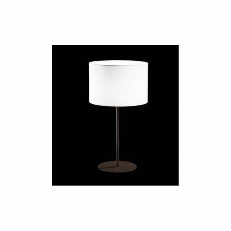 BRILLIANCE Flamingo table lamp white fabric colors