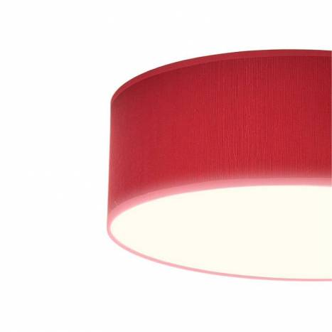 ILUSORIA Madras E27 fabric ceiling lamp