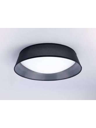 Plafón de techo Nordica 59cm negro - Mantra