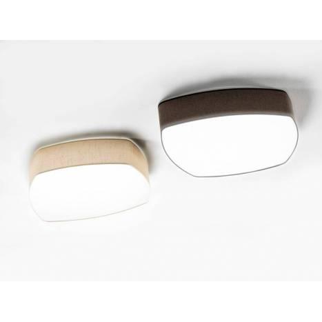 ILUSORIA Misshape 4L E27 fabric ceiling lamp