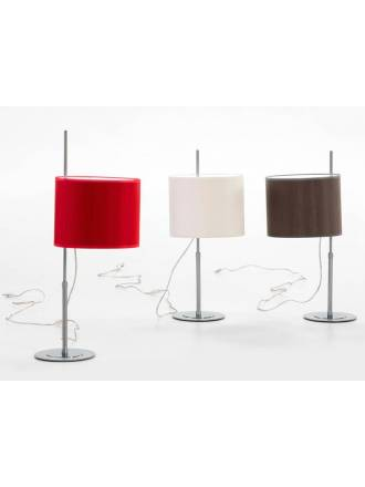 ILUSORIA Telescopic E27 fabric table lamp