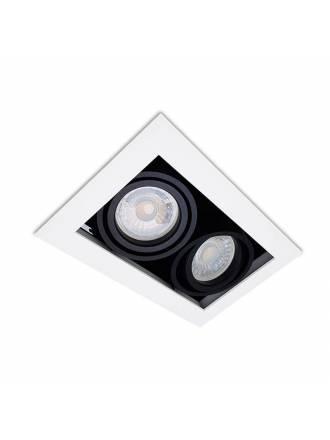XANA Dobra 2L GU10 recessed light white