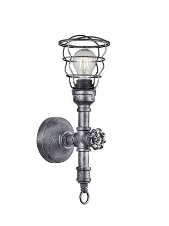 TRIO Gotham 1L wall lamp antique