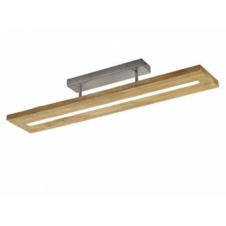 Lámpara de techo Brad LED 27w madera - Trio