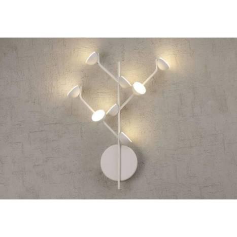 Aplique de pared Adn LED 24w aluminio - Mantra