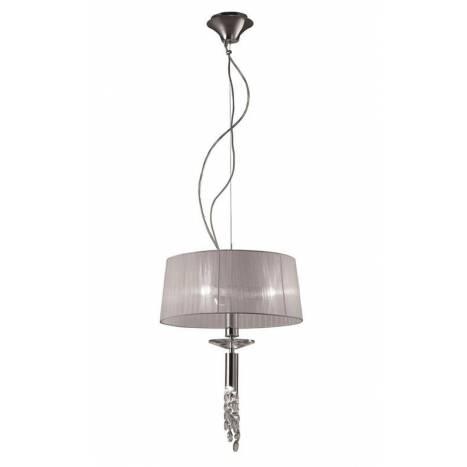 Mantra Tiffany pendant lamp 46cm chrome