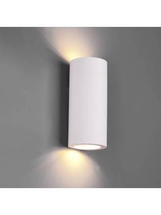 TRIO Zazou 2L GU10 gypsum wall lamp