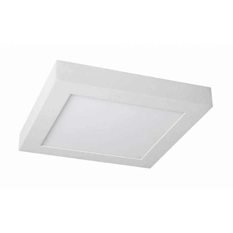 Plaf n de techo led 15w cuadrado ip44 maslighting - Techos de plafon ...