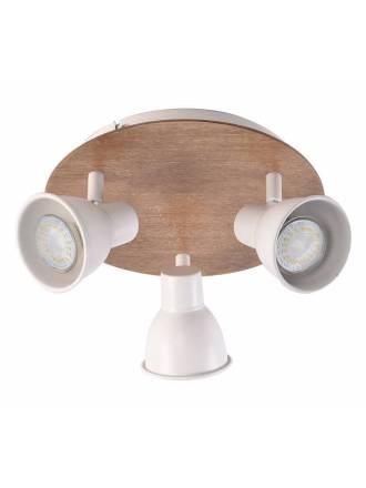 JUERIC Miko 3L GU10 white surface spotlight