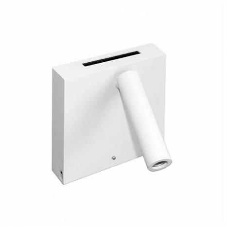 BENEITO FAURE Sweet LED USB + induction wall lamp