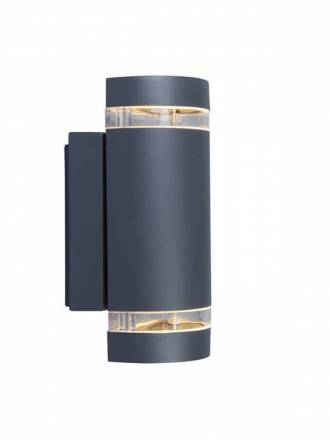 LUTEC Focus 2L GU10 IP44 wall lamp