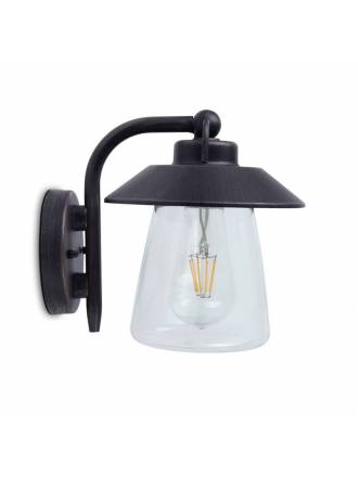 LUTEC Cate 1L E27 IP44 wall lamp