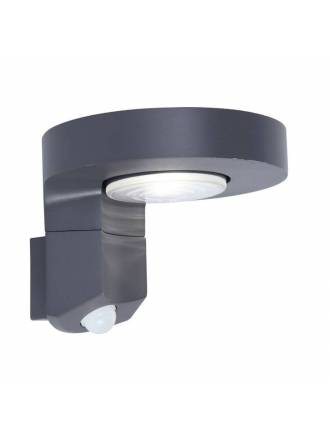 Aplique de pared Diso Solar LED IP44 + sensor - Lutec