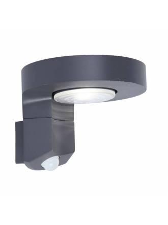 LUTEC Diso Solar LED + sensor IP44 wall lamp