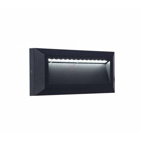 Baliza superficie Helena LED IP54 antracita - Lutec