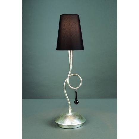 Mantra Paola table lamp 1L silver
