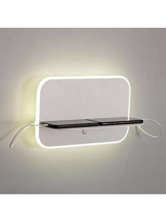 MANTRA Lanzarote LED + USB wall lamp