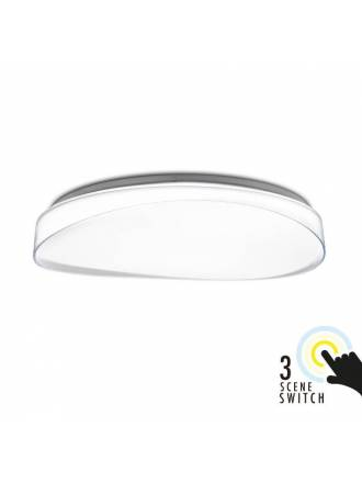KELEKTRON Bianca 72w LED ceiling lamp