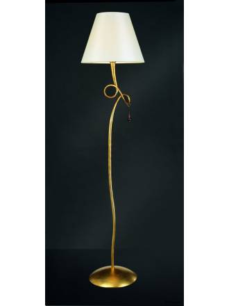 Mantra Paola floor lamp 1L gold