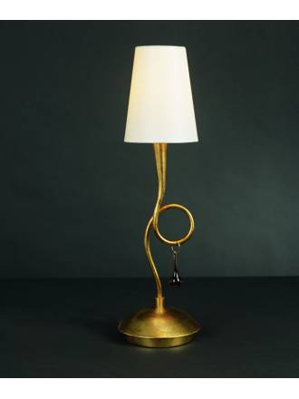 Mantra Paola table lamp 1L gold