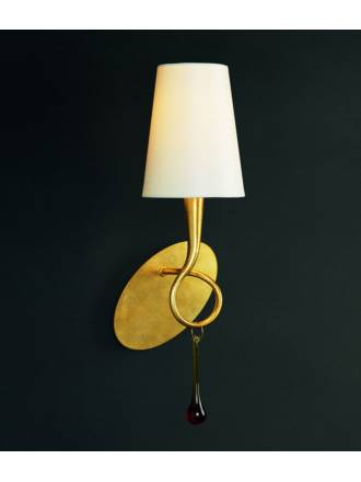 Mantra Paola wall lamp 1L gold