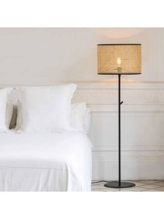 Lámpara de pie Mambo 1L tela - Faro