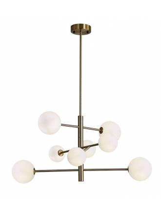 Lámpara colgante Doris 8L G9 oro - ACB
