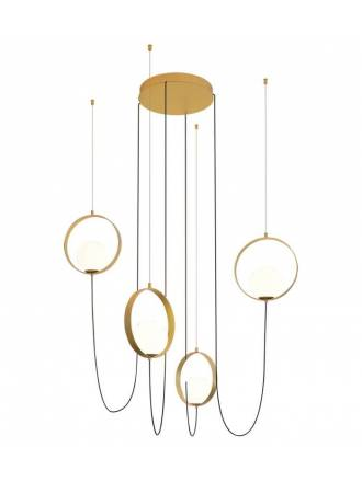 ACB Halo LED pendant lamp gold