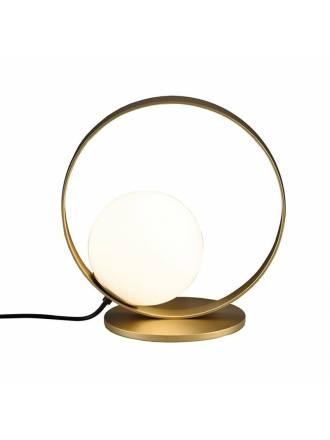 Lámpara de mesa Halo LED 5w oro - ACB