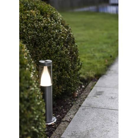 Baliza Virgo LED IP44 inox - Lutec