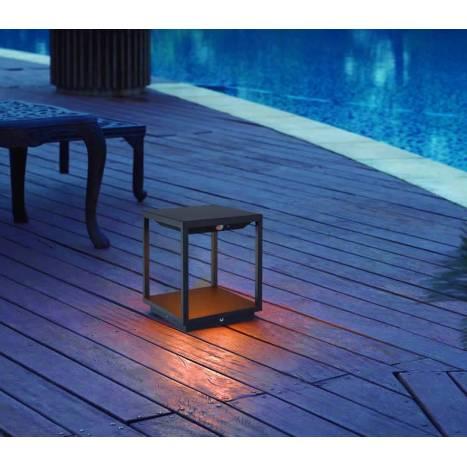 MANTRA Meribel Solar LED IP54 post lamp