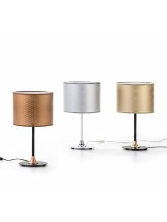 ILUSORIA Perfo 1L fabric table lamp