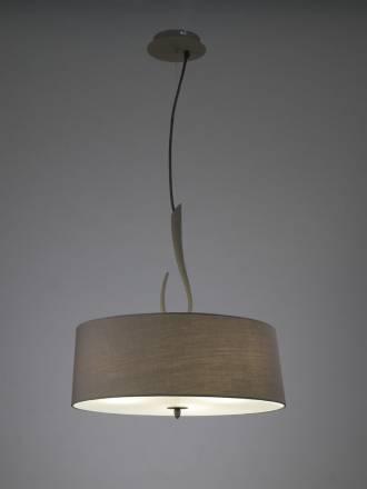Mantra Lua pendant lamp 3L grey