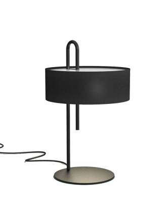 Lámpara de mesa Clip 1L E27 negro - ACB