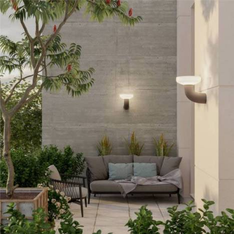 Aplique de pared Paquita Solar LED 8w IP65 - Newgarden