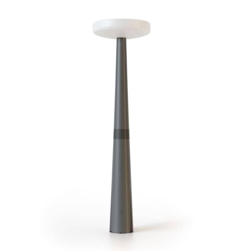 Farola Paquita Solar LED IP65 215cm - Newgarden