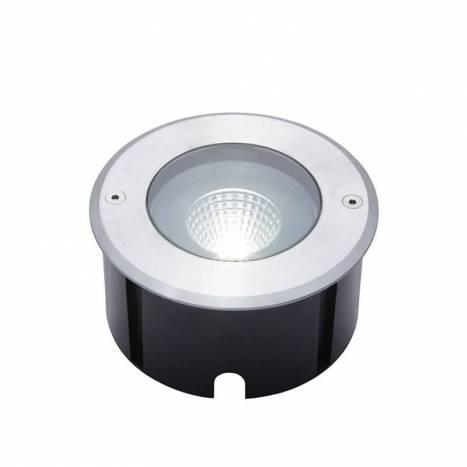 LUTEC Denver 12w LED IP67 floor recessed light