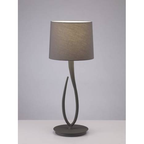 Mantra Lua table lamp 1L 61cm grey