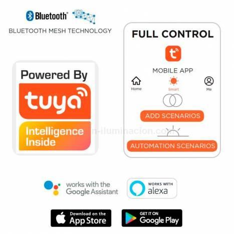 Baliza Kira LED IP54 Bluetooth - Lutec